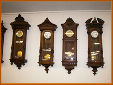 Antique clocks, Vienna clocks, antique wall clocks